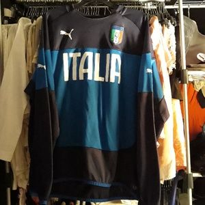 PUMA FIGC Italy Pullover Sweater